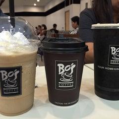 Photo taken at Bo's Coffee by Nikki S. on 7/3/2015
