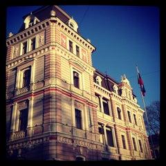Photo taken at Krievijas vēstniecība | Посольство России by Irina M. on 3/12/2013