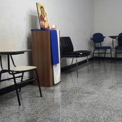 Photo taken at Centro de Evagelização Comunidade Católica Shalom by Willian A. on 9/21/2013