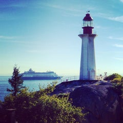 Photo taken at Point Atkinson Lighthouse by Igor G. on 9/8/2014