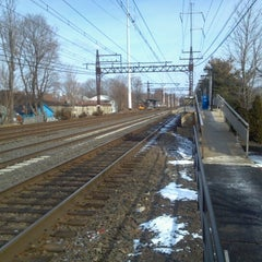 Photo taken at Metro North - East Norwalk Train Station by Fred G. on 2/3/2013