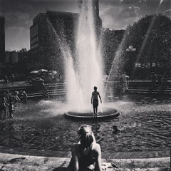 Photo taken at Washington Square Park by Jason P. on 7/18/2013