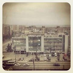 Photo taken at Гостиница Луганск / Hotel Lugansk by Антон Д. on 4/7/2013