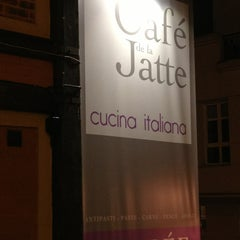 Photo taken at Café de la Jatte by Jorge S. on 1/15/2013