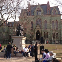 Photo taken at University of Pennsylvania by Lane R. on 4/8/2013