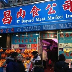Photo taken at Bayard Meat Market by Lane R. on 12/24/2012