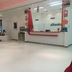Photo taken at Albaraka Bank Ramli Mall by Sayed Maitham A. on 9/16/2014
