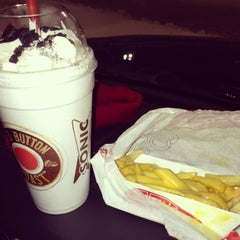Photo taken at Sonic Drive-In by Lauren H. on 2/9/2013
