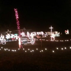 Photo taken at Mike's Nights Of Lights by Anthony B. on 12/7/2012