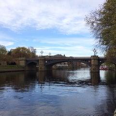 Photo taken at Skeldergate Bridge by Steve K. on 11/2/2014