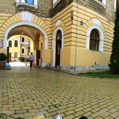 Photo taken at Universitatea Babeș-Bolyai by Narci N. on 7/2/2014