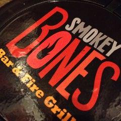 Photo taken at Smokey Bones Bar & Fire Grill by Christie M. on 1/27/2013
