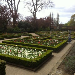 Photo taken at Holland Park by Adomas W. on 4/29/2013
