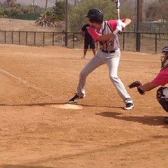 Photo taken at Sweetwater Valley Little League by Natalia R. on 10/26/2013