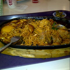 Photo taken at Food Court Kepong Village Mall by Hidayah H. on 12/7/2012