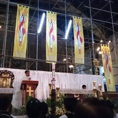 Photo taken at Santuario de San Pedro Bautista Parish by Dette A. on 4/4/2015
