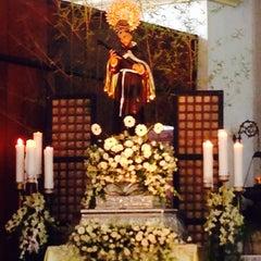 Photo taken at Santuario de San Pedro Bautista Parish by Dette A. on 10/5/2014