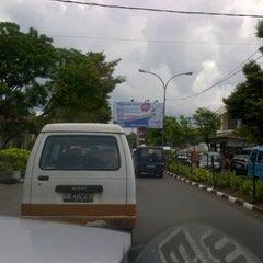 Photo taken at Jalan RW Monginsidi by Matthew &. on 5/13/2013