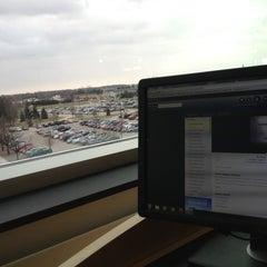 Photo taken at CMU Park Library by Katherine C. on 1/16/2013
