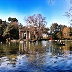 Photo taken at Villa Borghese by Elvira P. on 3/5/2013