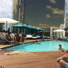Photo taken at Water Club Pool by Cengiz A. on 7/28/2014