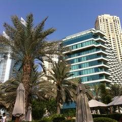 Photo taken at Hilton Dubai Jumeirah Resort by July💜 P. on 8/17/2013