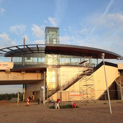Photo taken at Station Nijmegen Lent by Bora A. on 8/15/2013