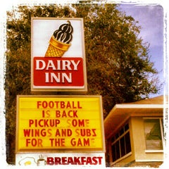 Photo taken at Dairy Inn by Ted Y. on 9/17/2012