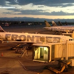 Photo taken at Frontier Airlines (Gates 24 - 32) by CJ W. on 6/27/2013