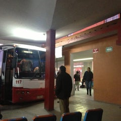 Photo taken at Central de Autobuses de Cerritos by Antonio P. on 8/28/2013