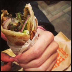 Photo taken at The Kati Roll Company by Jennifer S. on 1/18/2013