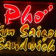 Photo taken at Kim Saigon Sandwiches by Laurent P. on 12/10/2012