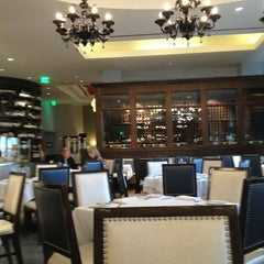 Photo taken at Morels French Steakhouse & Bistro by Fabrizio A. on 12/28/2012