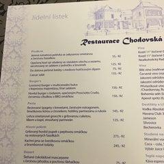 Photo taken at Restaurace Chodovská tvrz by Radek Z. on 2/26/2016