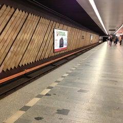 Photo taken at Metro =C= Nádraží Holešovice by Radek Z. on 7/10/2013
