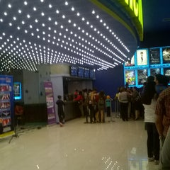 Photo taken at Super Cines 10 by Ricardo C. on 6/16/2015
