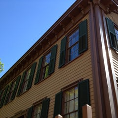 Photo taken at Lincoln Home National Historic Site by John D. on 7/25/2013