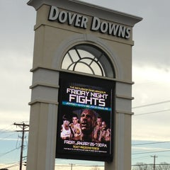 Photo taken at Dover Downs Hotel & Casino by Craig H. on 1/21/2013
