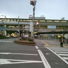 Photo taken at 近鉄 布施駅 (Fuse Sta.) by Jason G. on 1/2/2013