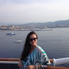 Photo taken at Cannes by Nastya S. on 6/29/2015