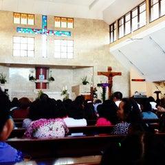 Photo taken at Gereja Katolik Salib Suci by Andy P. on 12/14/2014