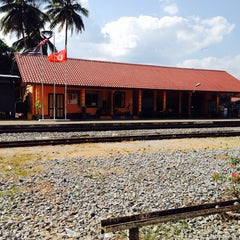Photo taken at KTM Dabong Railway Station (Stesen Keretapi) by Ahmed R. on 2/26/2014