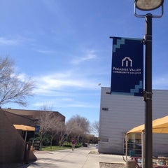 Photo taken at Paradise Valley Community College by Mossman $. on 3/6/2013