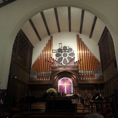 Photo taken at First United Methodist Church by Patrick S. on 12/9/2012