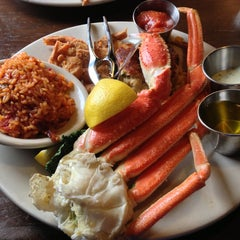 Photo taken at Charleston Crab House by Eric M. on 3/2/2013