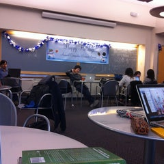 Photo taken at Computer Science Lounge - Columbia University by Yi-Hsiu C. on 12/18/2012