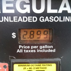 Photo taken at Costco Gasoline by David M. on 11/10/2013