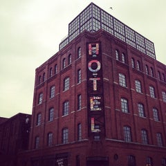 Photo taken at Wythe Hotel by Jane H. on 1/11/2013