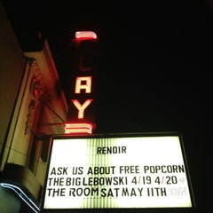 Photo taken at Clay Theatre by Catherine K. on 4/21/2013