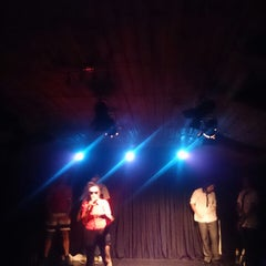 Photo taken at Teatro Club de Impro Lospleimovil by Monica O. on 12/19/2013